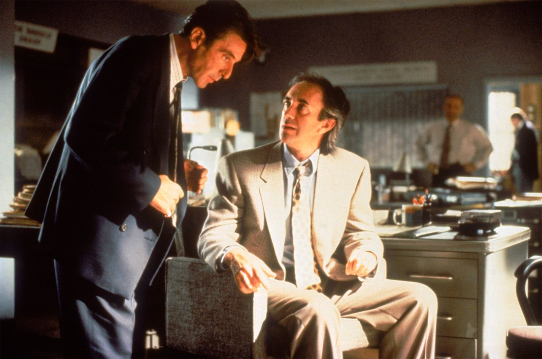 GLENGARRY GLEN ROSS, Al Pacino, Jonathan Pryce, 1992, (c) New Line/courtesy Everett Collection